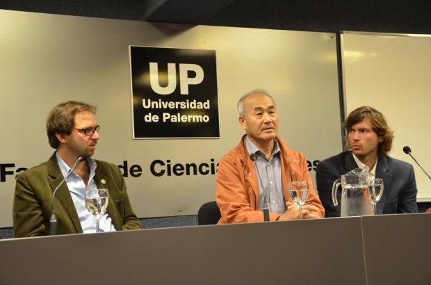 Jong Soo Park en la Universidad de Palermo